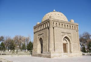 Ismail Samani är ett mausoleum i Buchara. Det är runt 1 200 år gammalt.