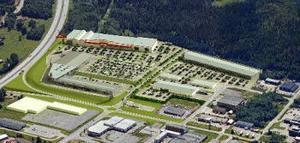 I den stora långa byggnaden närmast motorvägen i södra Birsta kommer sannolikt byggvaruhuset Bauhaus etablera sig. Samtal förs med Norrvidden, som äger marken.Skiss: Norrvidden