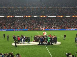 Minuterna innan Manchester United höjer bucklan i skyn.