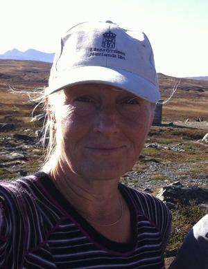 Eva Näsman, naturvårdshandläggare på länsstyrelsen i Östersund.