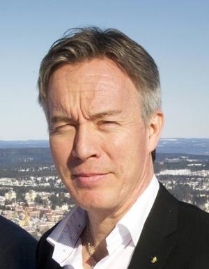 Stefan Söderlund, kommundirektör i Sundsvall.