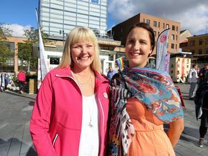 Marie Nordén och Lisa Lundell (S) kandiderar till Östersunds kommunfullmäktige.
