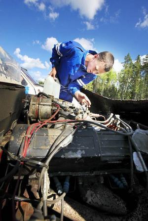 Arvid Gunnarsson är 16 år och kommer från Ytterturingen. Han hade några kompisar som skulle till motorkollot och hängde på.