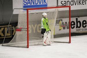 16-åriga Jesper Sundving gjorde debut i SAIK-målet.