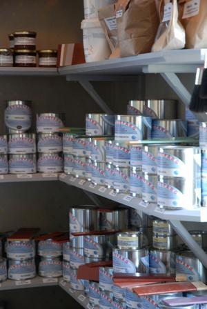 Linoljefärgen är en produkt som säljs väldigt mycket.