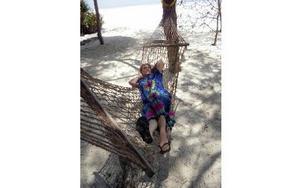 Efter volontärperioden tog Inga-Lill en välbehövlig semester på kryddön Zanzibar.FOTO: PRIVAT