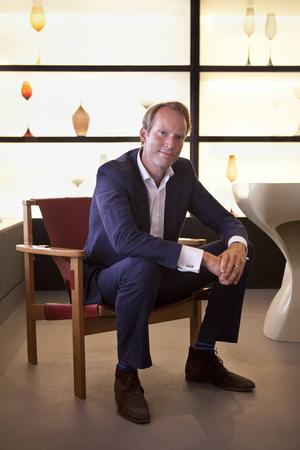 Pontus Silfverstolpe, grundare av Barnebys, världens största söksajt för onlineauktioner av konst och antika föremål.   Foto: Erik Danger