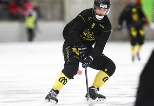 Joakim Andersson stod för fem mål och två assist i matchen mot Tellus.