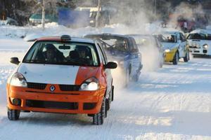 Totalt var det 17 bilar från Mälardalen och Gotland som fanns på plats på rallycampen.  Foto: Håkan Degselius
