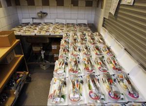 Cirka 200 frukostpaket om dagen lämnar restaurangköket på Frösön.