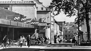 Stadskärnan i Norrtälje 1986.
