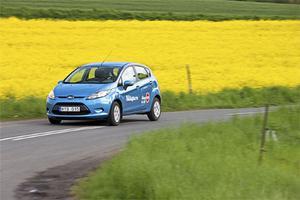 Ford Fiesta är kul att köra och rymlig för sin storlek.