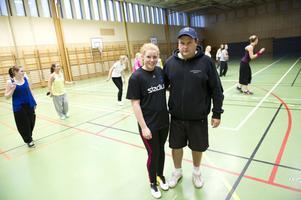 Matilda Rantanen och Johan Plyhm vill erbjuda sådan idrott som eleverna själva är intresserade av men också överraska med nya träningsformer.