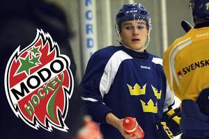 Dmytro Timashov valde att lämna Modo på grund av att han ville testa något nytt i sin hockeykarriär.