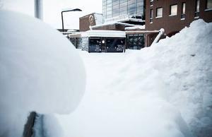 Sir Winston Sail ligger väl inbäddad i snö i dag, men om några veckor kan här serveras wokad jämtlandsmat och varma drycker från baren.Får restaurangen sitt tillstånd kommer de att ha öppet när SM-veckan och Vinterfestivalen arrangeras i Östersund.