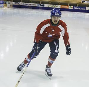 Martin Frid – ung och stark profil redo att ta mer plats i Edsbyns IF.