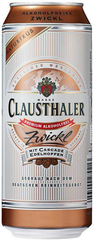 Clausthaler Zwickl är ett utmärkt alkoholfritt öl från Tyskland.