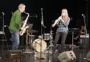 Saxofonduett med Sten Källman och Sofia Andersson