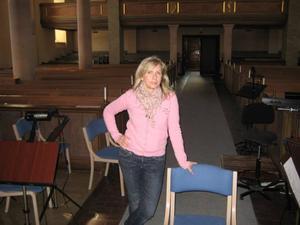 Madelene Perpåls är projektledare och tillsammans med över 200 frivilliga har de sett till att konserterna kan hållas i helgen.