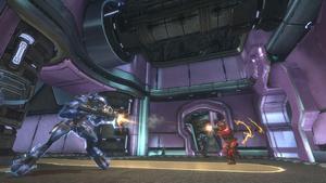 Nyutgivningen av det  första Halospelet firar seriens tioårsjubileum. Foto: Microsoft