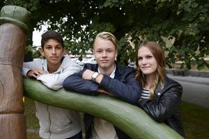 Tillsammans med 34 andra elever reste Paya Pischkah, Tim Antonsen och Isabelle Berglund till Polen för att lära mer om förintelsen.