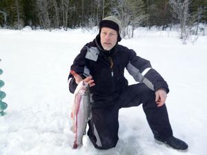 En nöjd fiskare,