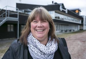 Anki Kjellberg är evenemangsansvarig i IK Brage.