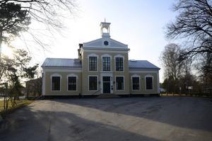 1873 års skola av Per August Westermark.   Foto: Daniel Palmberg