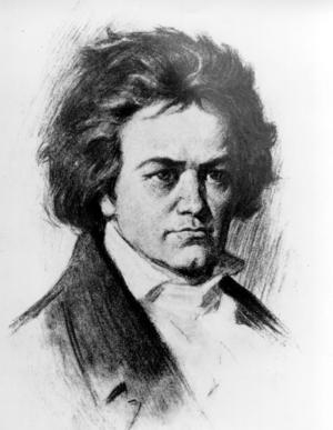 Ludvig van Beethoven.