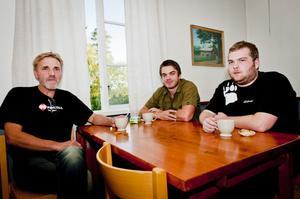 Jägarna Kjell Mårtensson, Mattias Eriksson och John Persson tyckte att föreläsningen var intressant. De har alla sett björn men aldrig lyckats skjuta någon.