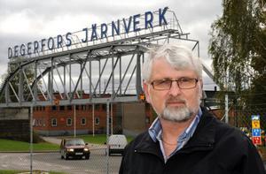 Bjarne Rasmussen, IF Metallordförande i Degerfors befarar att det blir tufft med jobben i Långshyttan, Torshälla och delar av Avesta om fusionen med Thyssenkrupp blir verklighet.
