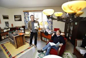 Bengt Söderhäll & Jan Bendrik i prisjuryn.