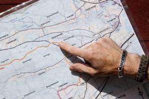 Gusturleden är cirka 40 kilometer lång. Västerro, Selånger, är en bra plats att starta på.