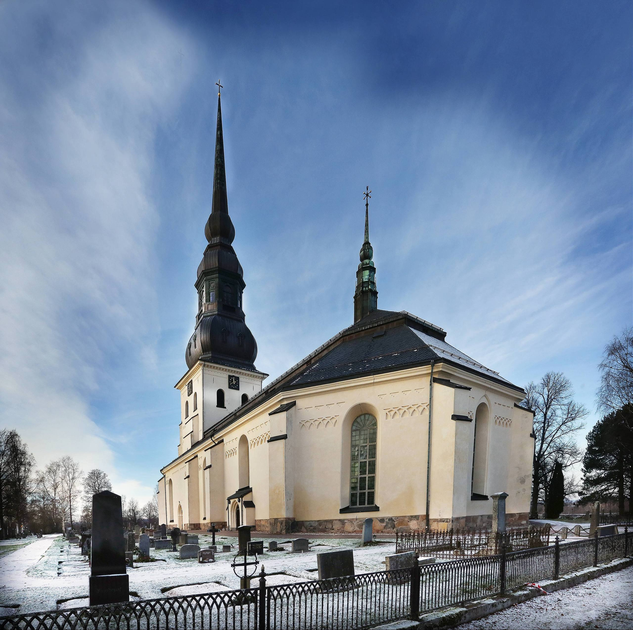 Kyrkan lockar rekordmanga