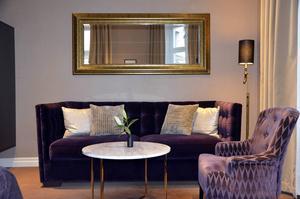Clarion Collection Hotel Grand. De designade sviterna känns varma i sina färger.