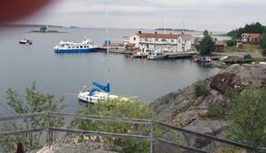 Arholma lanthandel, där komundirren Göran härjade som liten grabb.