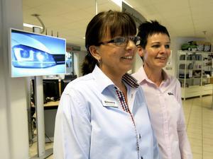 Det uppstod ett ömsesidigt intresse mellan Sane Suominen och Bilmetros HR-chef Birgitta Nygren.