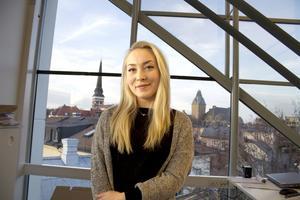 Reslysten. Michelle Nordbäck tycker mycket om att resa och kan även tänka sig att flytta utomlands för att arbeta.Foto: Daniel Guerra