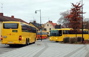 Inga mer kontanter på UL:s gula bussar.