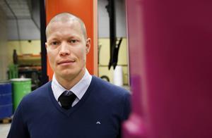 Jonatan Bunne, vd vid konkursade IBE Spectrum, tror på en framtid för måleriet.
