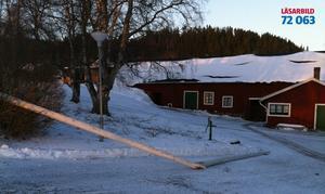 Inget mer flaggande här enligt Dagmar hälsar Ingrid och Ragnar Johansson i Gällö.