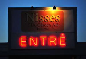 Nu kommer skylten ovanför Nisses i Smedjebacken att slockna.