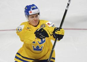 Joel Eriksson Ek är med i Tre Kronors trupp till Sweden Hockey Games.
