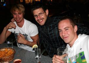 Bill och Bob. Johan, Korre och Leo