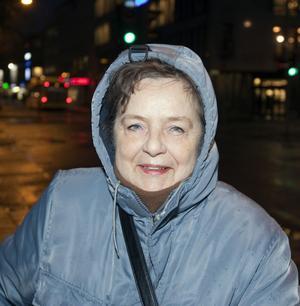 Birgit Flyborg, 68 år, pensionär, Gävle:– Jag skulle inte behöva lova någonting.