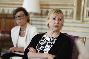Utrikesminister Margot Wallström och kabinettssekreterare Annika Söder