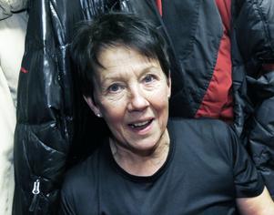 Carina Sjöberg har gympat med Friskis&Svettis på Vallbacksskolan förr, på 1990-talet. Hon har varit med i föreningen sedan starten i början av 1980-talet.