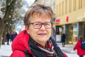 Margaretha Brodin, 65 år, Odenskog: – Alldeles nyss. Jag skrattade åt dig, för du såg så glad ut. Och då måste jag också skratta.