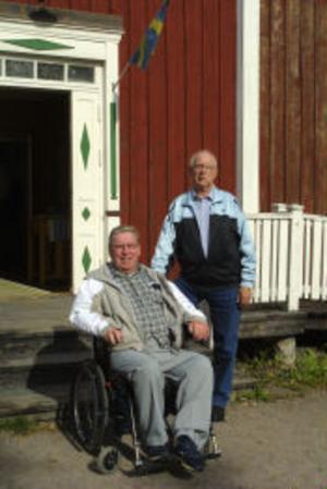 Äldst i släkten Nauchman är Stig Nauchman, 69 år, och Sven Andersson, 74 år.