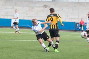 Anton Hovstadius frälste Heby med matchens enda mål.